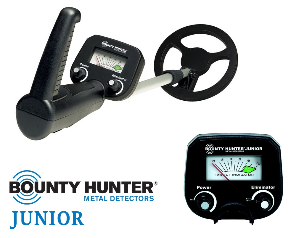 Bounty Hunter Junior kinder metaaldetector 4-8 jr