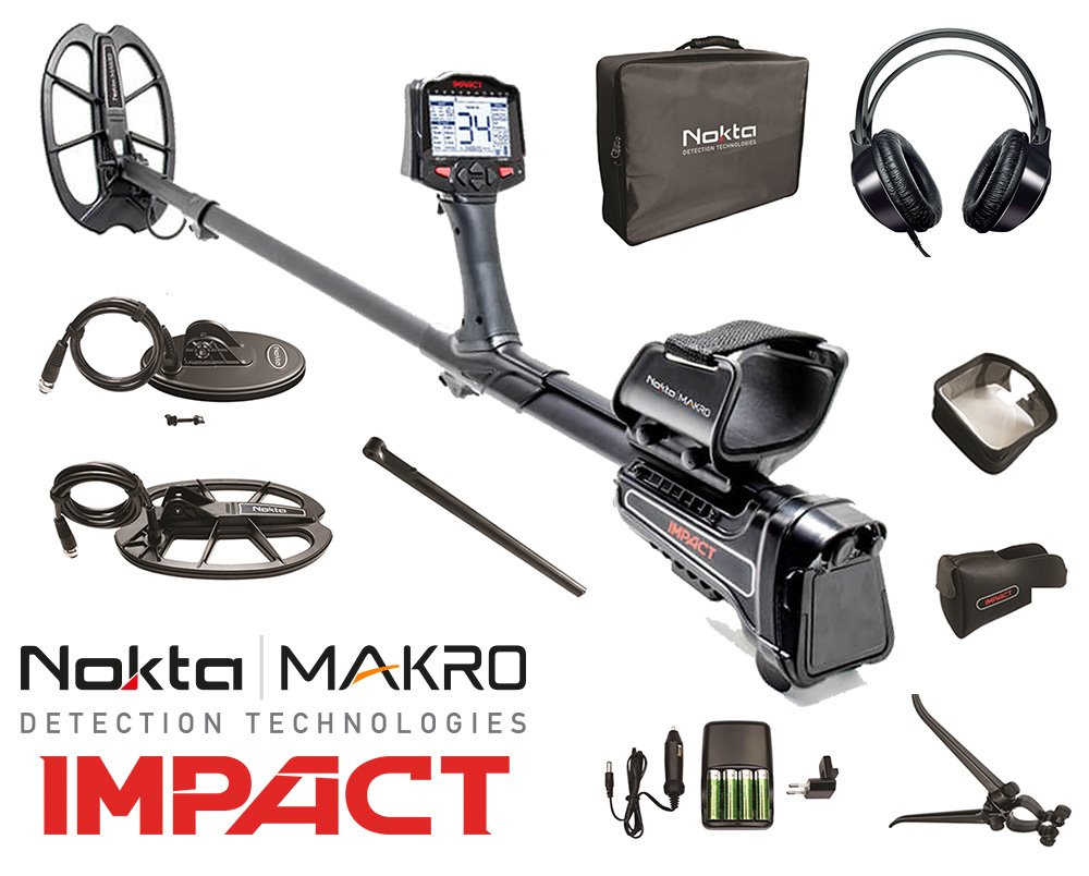Nokta Impact multifrequentie metaaldetector Pro-Package