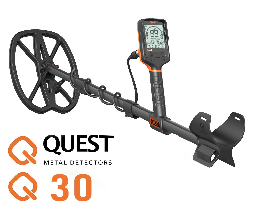 Quest Q30 metaaldetector waterdicht